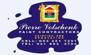 Pierre Volschenk Paint Contractors - Full Painting Services by Pierre Volschenk Painting Includes Interior & Exterior Painting
